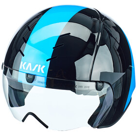 Kask Mistral Casque, black/light blue